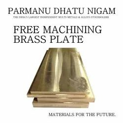 Free Machining Brass Plate