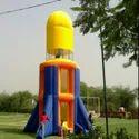 Inflatable Presser Rocket Bouncy