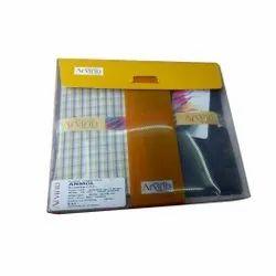Cotton Arvind Pant Shirt Combo Pack, Handwash, 120