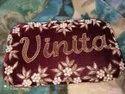 Branded Flower Ladies Name Clutch