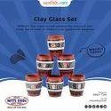 Decorative Clay Glass Set