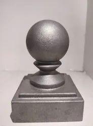 Ball Cap Cast Aluminum