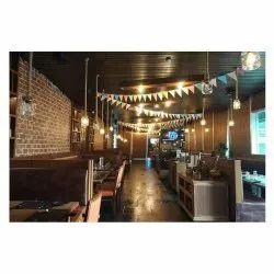 Restaurant Interior Designing Services, Turnkey