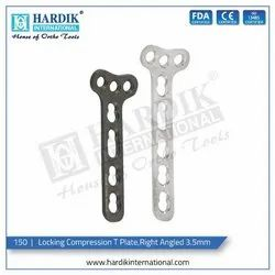 Locking Compression Right Angled T Plate  3.5mm