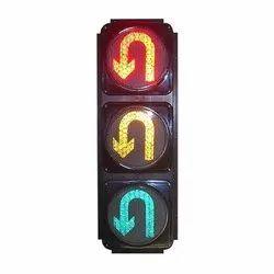 U-Turn LED Traffic Signal Light