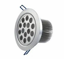 Lightron 15 W Round LED Recess Lamp, For Indoor