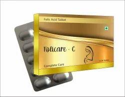 Iro-TAB Folic Acid Tablets, 5mg, Biovencer Healthcare