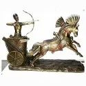 Egyptian Ramses Chariot Showpiece