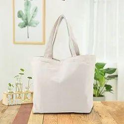 Cotton Bottom Gusset Bag / Shopping Bottom Gusset Bag / Cotton Canvas Bottom Gusset Bag