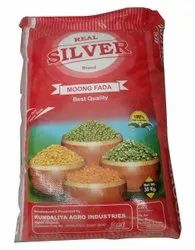 Real Silver Green Moong Fada Dal, Packaging Size: 30 kg
