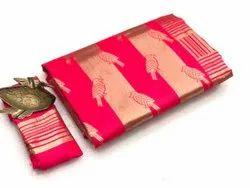 softy silky litchi silk saree
