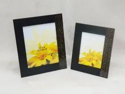 Brown Wooden Handicraft Photo Frame, For Home, Size: 10x8 Inch And 8x6 Inch
