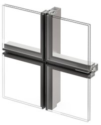 Structural Glazing Glass, Features: Smooth Finish