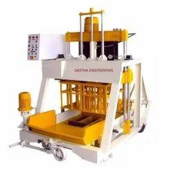 Single Phase Solid Block Making Machine