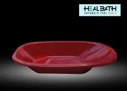 Fiber Reinforced Plastic Maroon Baby FRP Bath Tub