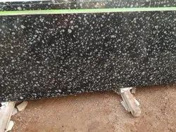 Polished Coin Black Granite Slab, For Flooring, Thickness: 16.5 mm