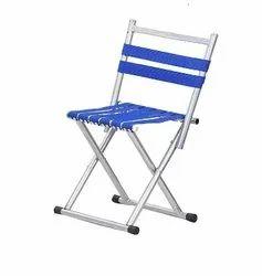 Prathna Enterpris Blue Portable Folding Stool, Super Strong Heavy Duty Outdoor Folding Chair, Size: 12 X 8 X 9 Cm