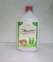 Strawberry Flavor Aloevera Juice
