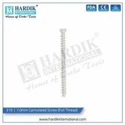 7.0mm Cannulated Screw (Full Thread)