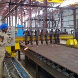 Star Cut Multi Torch Oxyfuel Metal Strip Cutting Machine