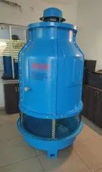Megatech Fiberglass Reinforced Polyester Bottle Shaped Cooling Tower, Induced Draft, Cooling Capacity: 10 Tr To 300 Tr