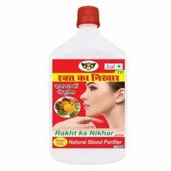 KVR Rakt Ka Nikhar Juice 1000ML, Packaging Type: Bottle