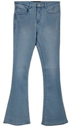 Regular Boot Cut Ladies Blue Denim Jeans, Waist Size: 28-40