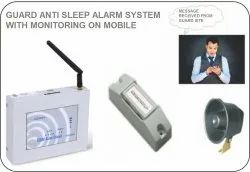Guard Anti Sleep Alarm System For Night Duty Checking And Monitoring With Mobile App Data Storage