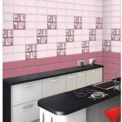 Kitchen Tiles Work, in Residential, Area: Minimum 100 Square Feet Area