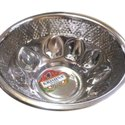 Round 7 Inch Stainless Steel Bowl, For Home, Hotels