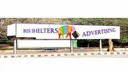 Outdoor Bus Shelter Advertisement, 25 Feet