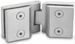 Bathroom Connector Glass To Glass Hinge Without Spring Action For 6mm & 8mm AGH-01