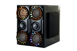 ABS 2.1 Black Bahubali Multimedia Speaker, 1000 W