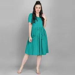 Plain Gown Western Dresses