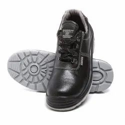 Agarson Duster Double Density PU Leather Safety / Industrial Shoes
