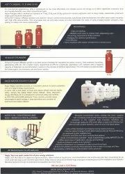 Industrial And Commercial Lpg Gas Cylinder