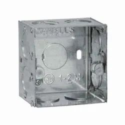 Electrical Wall Mounted Galvanized Steel Box 3 X 3