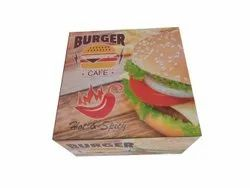 Burger Box, Capacity: 100-200 Gm, Size: 4 X 4 Inches
