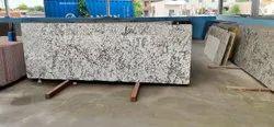 Alaska White Granite Slab, Thickness: 15-20 mm