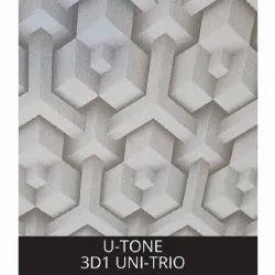 3D1 UNI-Trio PVC Laminated Gypsum Ceiling Tiles