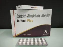 Desogestrel 0.15, Ethinylestradiol 0.02 mg Tablets