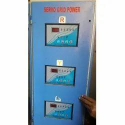 25 KVA Three Phase Air Cooled Servo Stabilizer