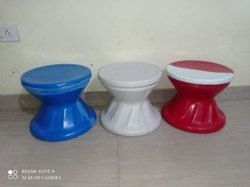 Round FRP Chairs, Size: 18 Inch