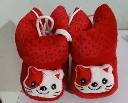 Red Fancy Baby Shoes, 1-3 Years