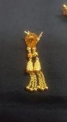 Tops Latkan Gold Earrings Sui Dhaga