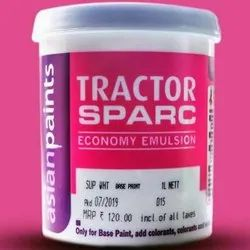 High Gloss Tractor Sparc Economy Emulsion Paint, For Home, Packaging Size: 1 Litre
