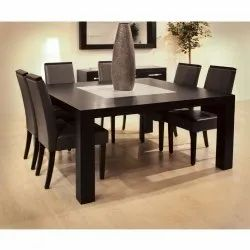 Modern Wooden Dining Table Set