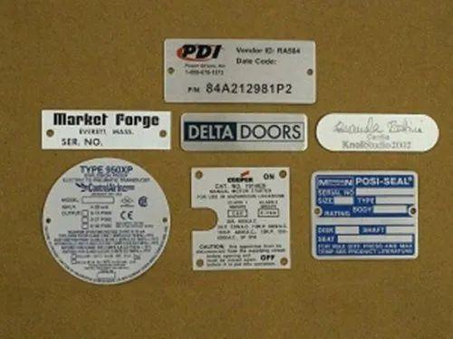 Anodized Aluminum Labels