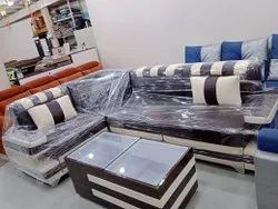 L Shape Sofa Set With Centre Table, For Home