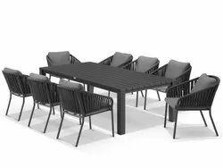 Dimensions: 220 X 105cm Aluminium Adele Dining Table